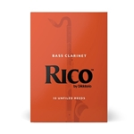 RICO REA10X Rico Bass Clarinet; Box of 10